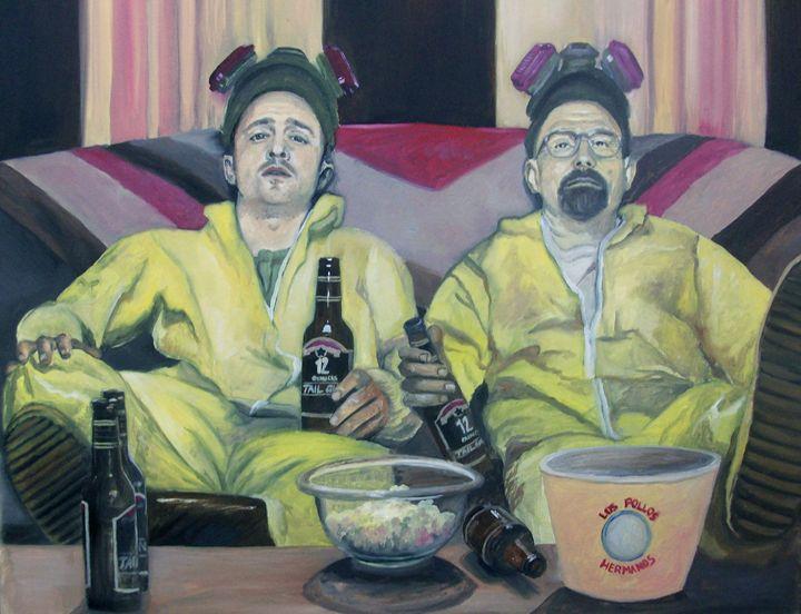 Walt and Jessee - Blanca Estrada B.E. Art