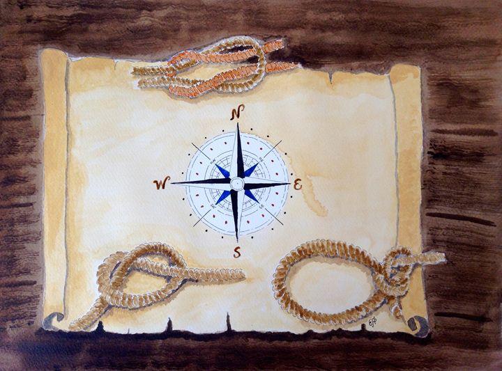 Nautical - Eva Asons Art