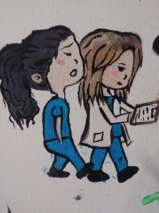 Meredith and Christina