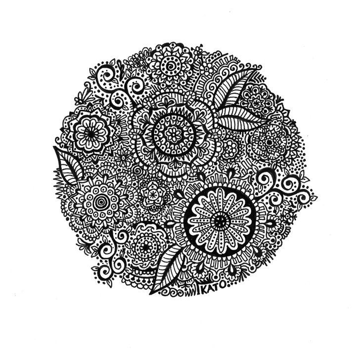 Circle Doodle - KADoodles