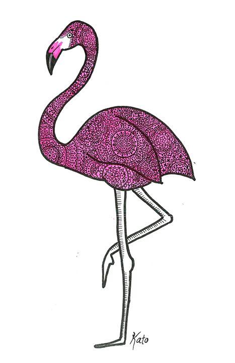 Flamingo - KADoodles