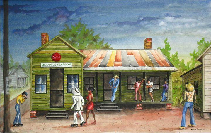 Big Apple Tea Room - Maceo Rogers - Art