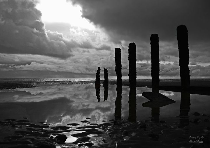 Break in the Clouds - Lionel Fraser, Pictures of Eastbourne, England