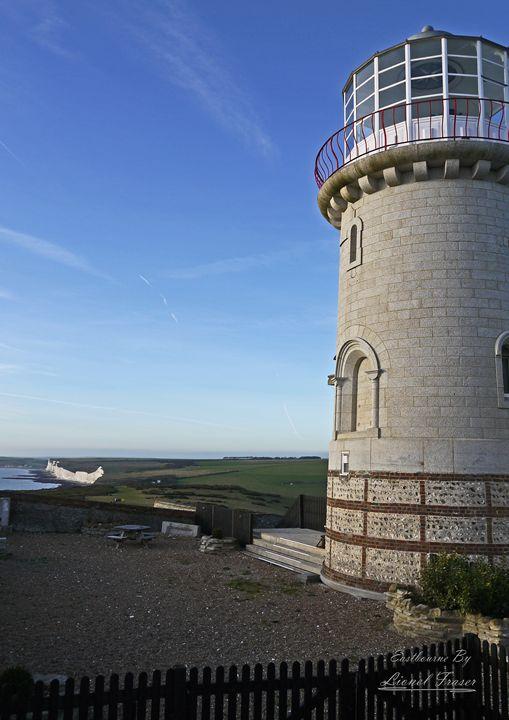Belle Tout Lighthouse - Lionel Fraser, Pictures of Eastbourne, England