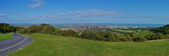 View From The Top of Eastbourne - Lionel Fraser, Pictures of Eastbourne, England