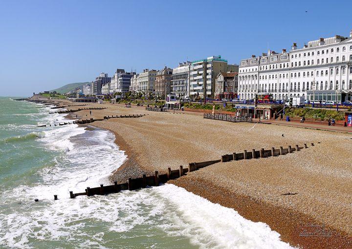 Eastbourne Seafront Hotels - Lionel Fraser, Pictures of Eastbourne, England