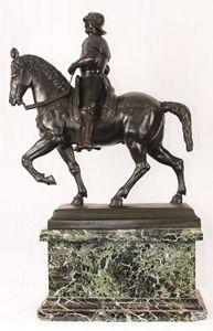 Soldier On Horse Bronze