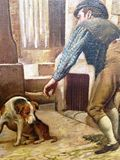 19th C. Oil on canvas English School