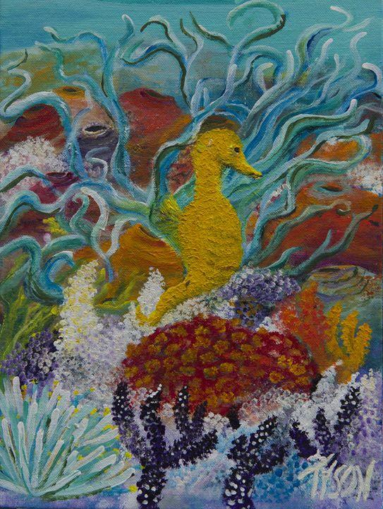 Sea horse - Tyson environmental art
