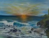 30 x 24 seascape painting