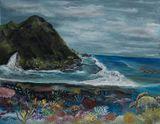 28 x 22 undersea painting