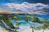 36 x 24 seascape painting