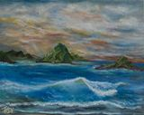 20 x 16 painting seascape
