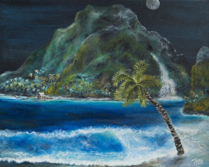 Paradise - Tyson environmental art