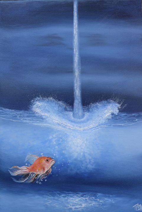 Some more water - Tyson environmental art