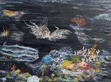 40 x 30 Lion fish painting