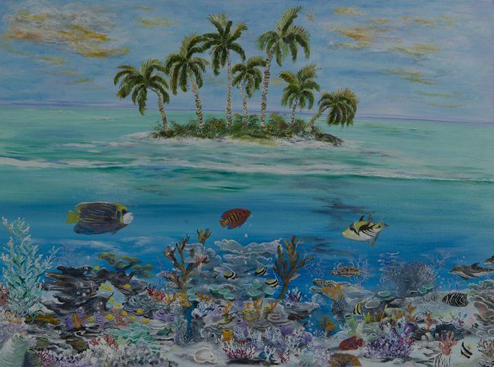 My own private island - Tyson environmental art