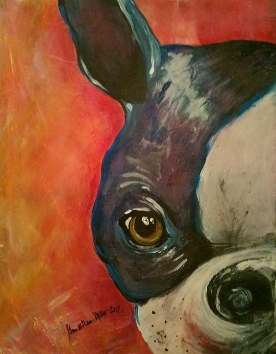 Dapper Dog - Gina Williams Miller