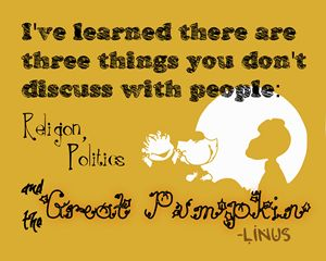 Quote, The Great Pumpkin