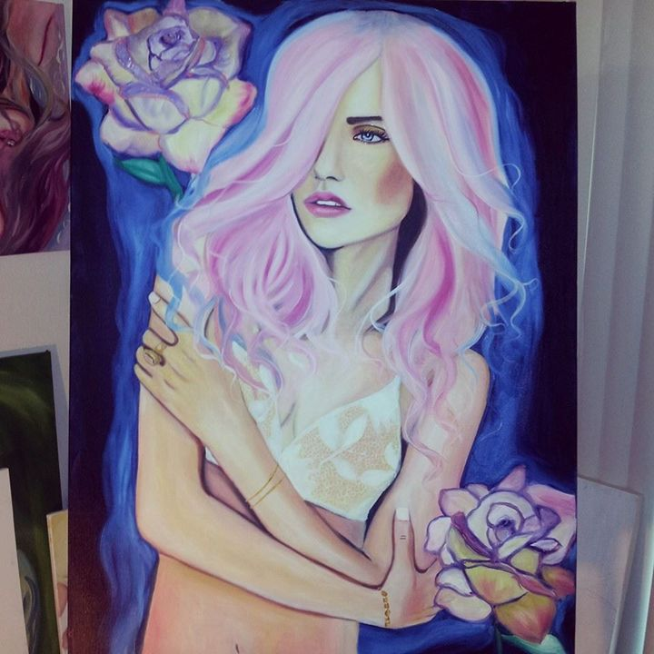 Rose - crystaloart