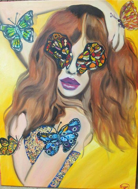 Papillon - crystaloart