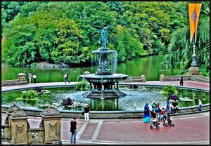 Bethesda Fountain, Central Park,NYC