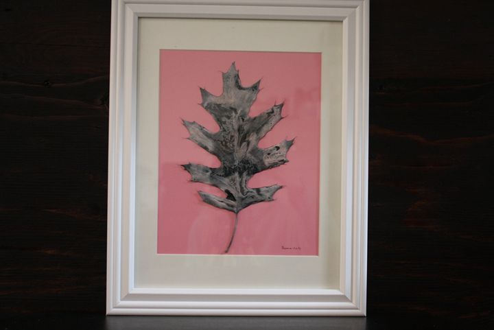 Creamy Pink - New England Leaves