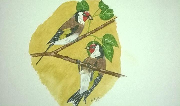 Goldfinch - paintings 4 u
