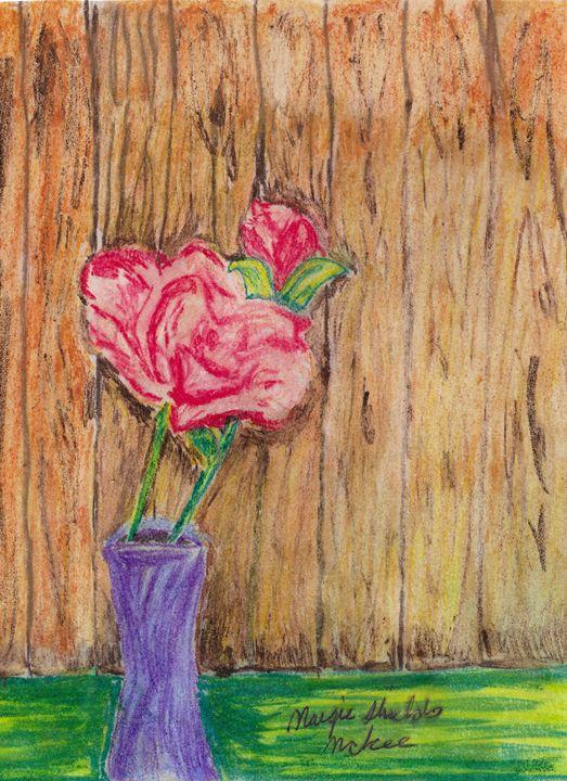 Flower In Vase - Margie Shields McKee