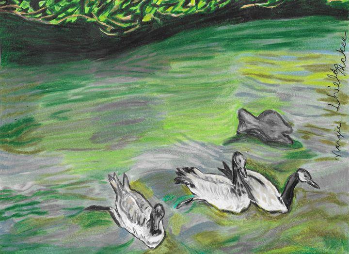 Canadian Geese - Margie Shields McKee