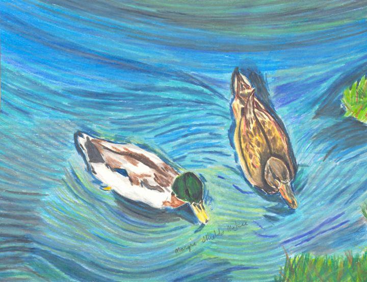 Duck Duo - Margie Shields McKee