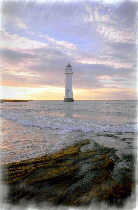 Evening on the Rock - David Hughes
