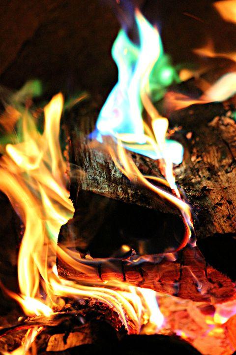 Summer Fire Pit - Amy Bilodeau