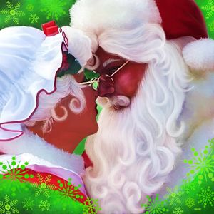 MR. & MRS. CLAUS Painting