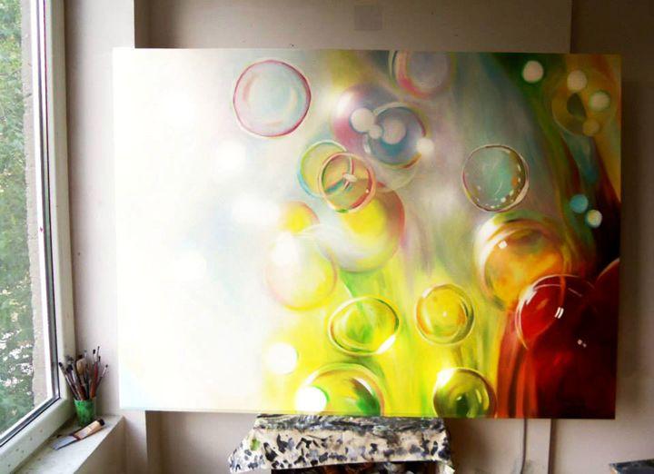 bubbles - Art Pavlina Spasova