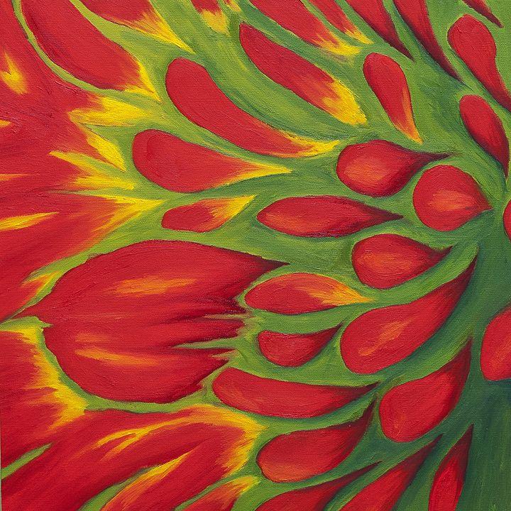 Echinacea - J Tuttle Art
