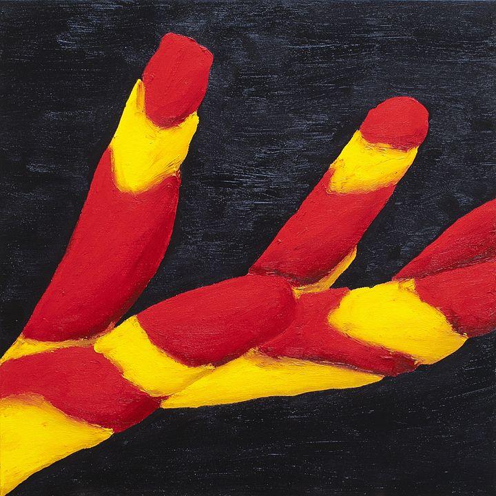 Lucifer's Fingers - J Tuttle Art