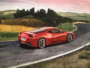 Ferrari countryside