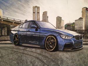 BMW city scene