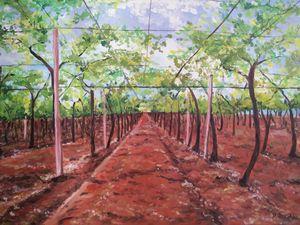 """Linee guida"" oil painting"