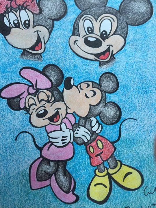 Mickey & Minnie - Amber French