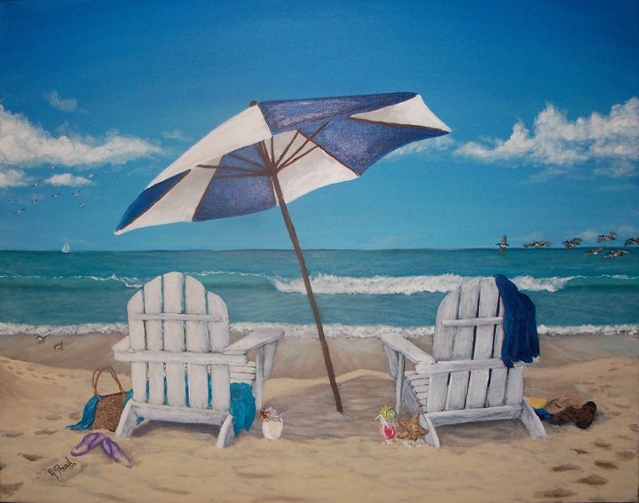 A Day at the Beach - J Reed Studios
