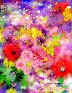 Flowers composition #360 - Martha Fernandez