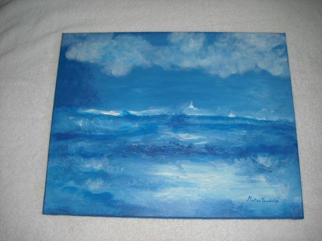 Mar azul - Martha Fernandez