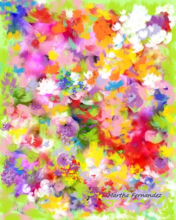 Flowers of love - Martha Fernandez