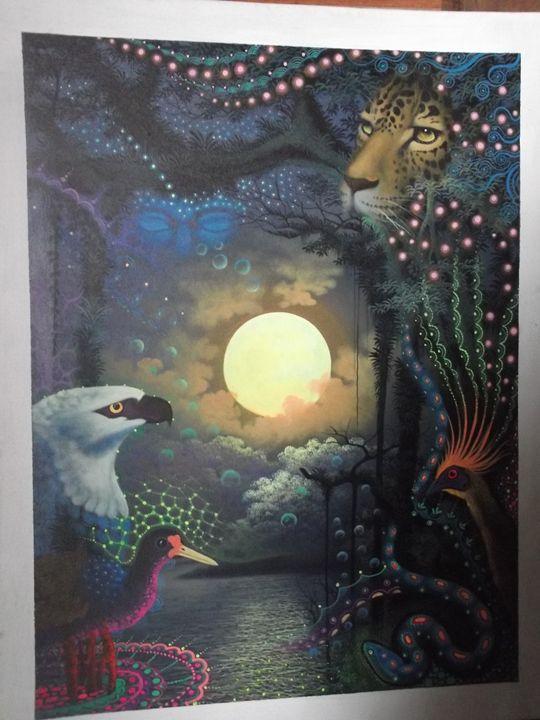 Animals Moon Worship - PERUVIAN JUNGLE 2014