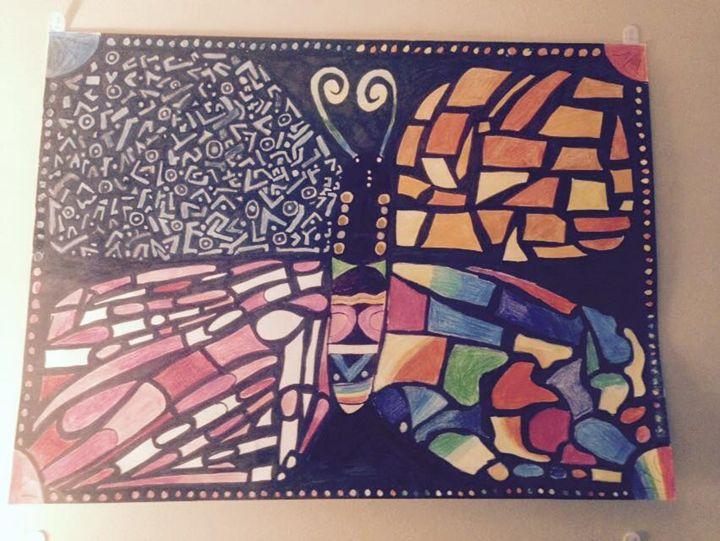 colorful creative butterflies - Megan's world