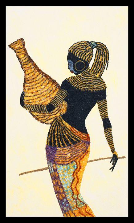 Arabel - Mozambique Gemstone Artwork Gallery