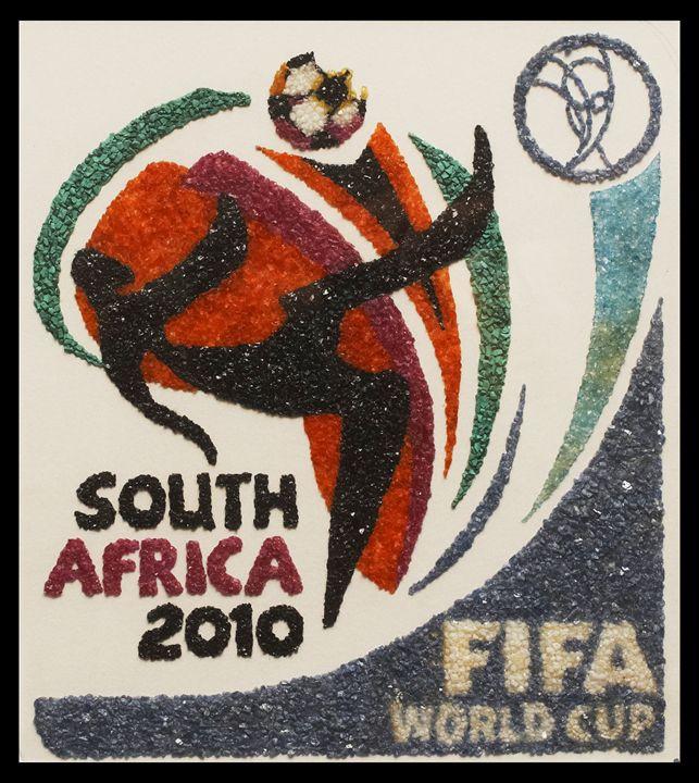 Copa do Mundo da Africa do Sul - Mozambique Gemstone Artwork Gallery