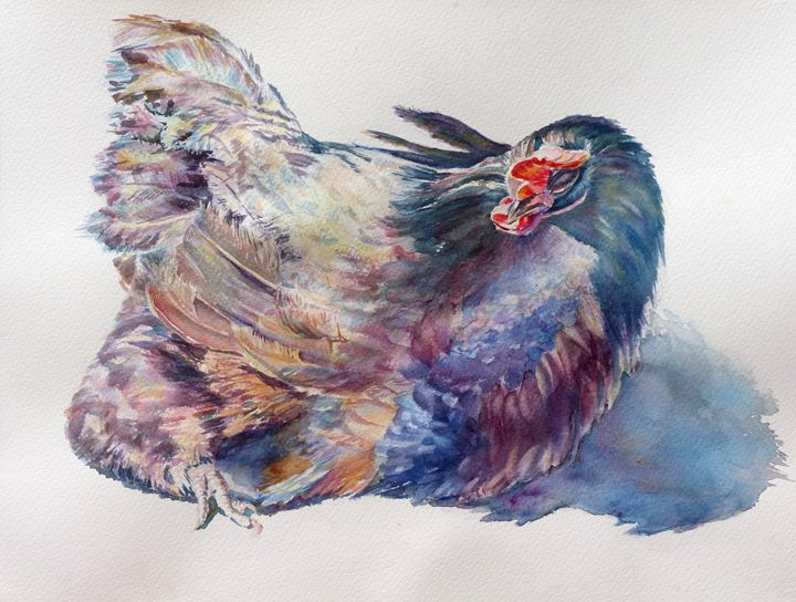 Miss Priss - MB Watercolors
